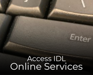 Access IDL Online Services
