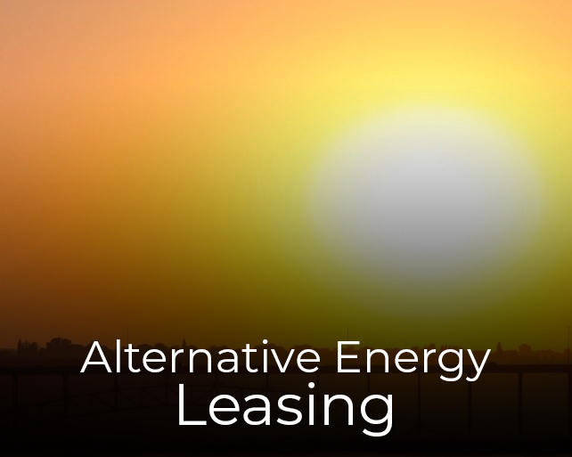 Alternative Energy Leasing