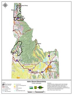 shared stewardship interactive map